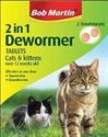 Picture of Bob Martin Dewormer Cat & Kitten 2in1  2tablets