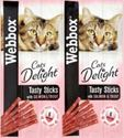 Picture of Webbox Cat Sticks Salmon & Trout 6stk