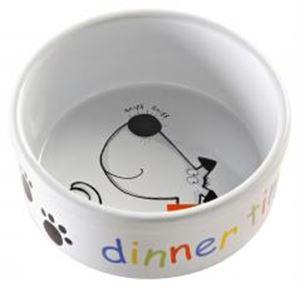 cheshire pet supplies mason cash dinner time dog bowl 15 x6 5cm