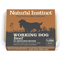 Picture of Natural Instinct Working Dog Beef 2 x 500g