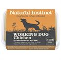 Picture of Natural Instinct Working Dog Chicken 2x500g