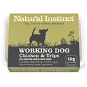 Picture of Natural Instinct Working Dog Chicken & Tripe 1kg