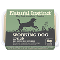 Picture of Natural Instinct Working Dog Duck 1kg