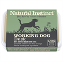 Picture of Natural Instinct Working Dog Duck 2x500g