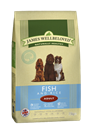 Picture of James Wellbeloved Fish & Rice Adult 15kg