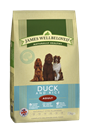 Picture of James Wellbeloved Duck & Rice Adult 15kg