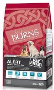 Picture of Burns Alert Adult & Senior Chicken & Brown Rice 12kg