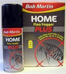 Picture of Bob Martin Home Flea Fogger Plus Twinpack 100ml