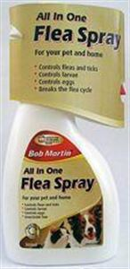 Picture of Bob Martin Flea Spray All In 1 Pet & Home 300ml
