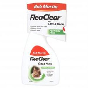 Picture of Bob Martin Flea Clear Spray For Cats And Homes 300ml