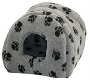 Picture of Cat Igloo Sherpa Fleece Grey 41x41cm