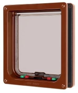 Picture of Cat Flap Brown Large 21x22.7cm