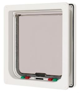 Picture of Cat Flap White Large 21x22.7cm