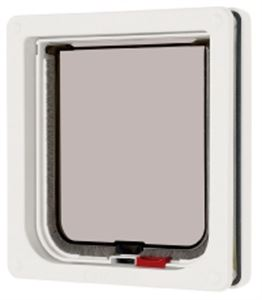 Picture of Lockable Cat Flap White 16.5x17.4cm