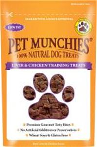 Picture of Pet Munchies Liver & Chicken Dog Training Treats 50g