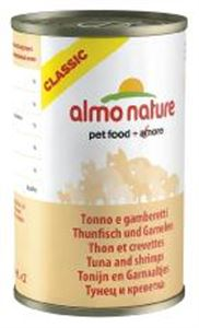 Picture of Almo Nature Cat Adult Tuna & Shrimps 140g