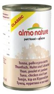 Picture of Almo Nature Cat Adult Tuna With Ham 140g