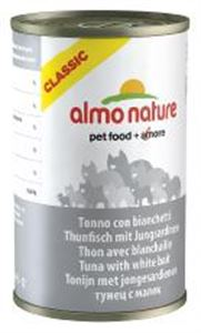 Picture of Almo Nature Cat Adult Tuna With White Bait 140g