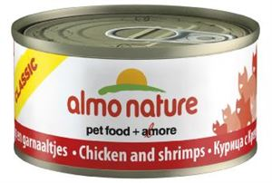 Picture of Almo Nature Classic Cat Adult Chicken & Shrimp 70g