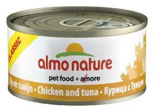 Picture of Almo Nature Classic Cat Adult Chicken & Tuna 70g