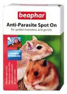 Picture of Beaphar Hamster & Gerbil Anti-parasite Spot On 2 Tubes