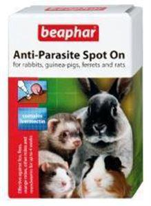 Picture of Beaphar Rabbit & Guinea Pig Anti-parasite Spot On 4 Tubes