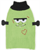 Picture of Ancol Halloween Monster Frankenstein Green Cable Knit Dog Jumper