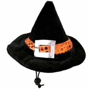 Picture of Halloween Kyjen LED Witches Hat For Dogs