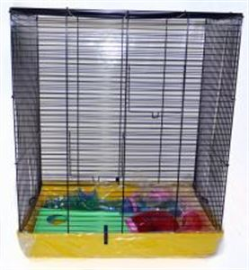 "Picture of Abi Flat Top Hamster Cage 50x31x70cm (20x12x27.5"")"