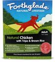 Picture of Forthglade Natural Lifestage Adult Chicken With Tripe & Brown Rice 395g