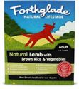 Picture of Forthglade Natural Lifestage Adult Lamb With Veg 395g