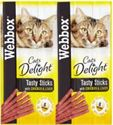 Picture of Webbox Cat Sticks Chicken & Liver 6stk
