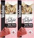 Picture of Webbox Cat Sticks Salmon & Trout 6stk