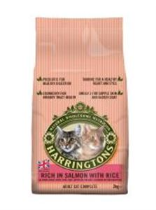 Picture of Harringtons Complete Cat Salmon & Rice 2kg
