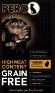 Pero Grain Free Turkey & Sweet Potato With Cranberry 12kg