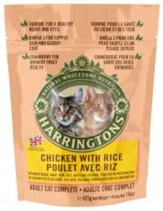 Picture of Harringtons Complete Cat Chicken & Rice 425g