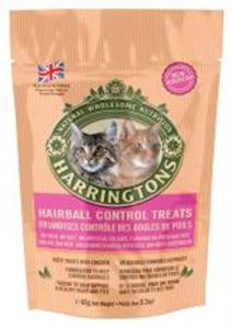 Picture of Harringtons Cat Treats With Hairball Control 65g