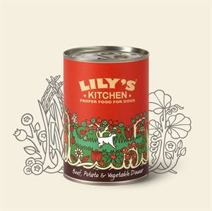 Picture of Lily's Kitchen Beef Potato & Vegetable Dinner 400g