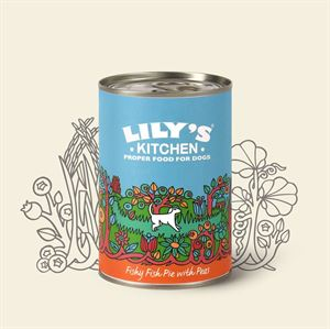 Picture of Lily's Kitchen Fishy Fish Pie With Peas 400g