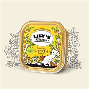 Picture of Lily's Kitchen Organic Chicken Dinner 100g