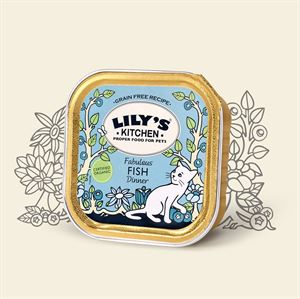 Picture of Lily's Kitchen Organic Fish Dinner 100g