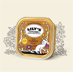 Picture of Lily's Kitchen Organic Turkey Diner 100g
