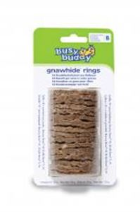 Picture of Busy Buddy Gnawhide Rings Refills Size B