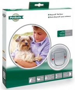 Picture of Staywell Deluxe Manual 4 Way Locking Cat Flap Frosted