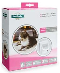 Picture of Staywell Infra Red 4-way Locking Deluxe Cat Flap White