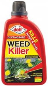 Picture of Glyphosate Weedkiller Concentrate 1 Litre