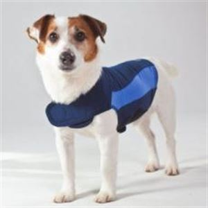 Picture of Thundershirt For Dogs Blue Polo Extra Small