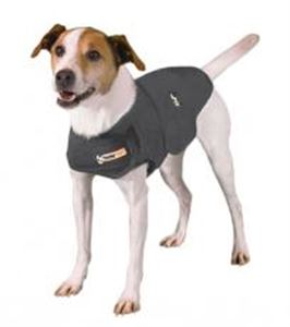 Picture of Thundershirt For Dogs Heather Grey Extra Small
