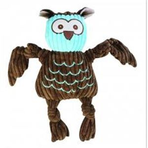 """Picture of Hugglehounds Knottie """"with Tuffut Technology"""" Owl Large"""