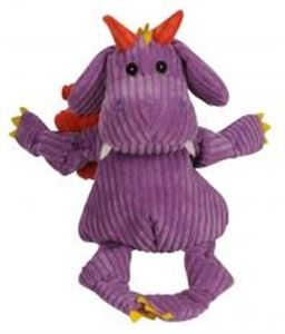 """Picture of Hugglehounds Knottie """"with Tuffut Technology"""" Puff The Dragon Purple Large"""